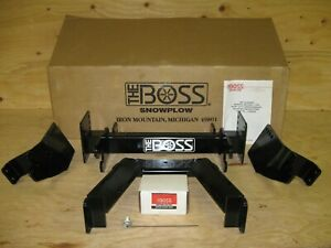 Boss Snow Plow Rt3 Htx Sport Duty Truck Mount Lta09002 For Chevy Gmc 1500 2007