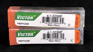 2 Pcs Victor 1 303mp Size 4 One Piece Mapp And Propylene Torch Cutting Tip