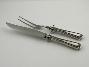 Towle Louis Xiv Sterling Silver 2 Piece Small Carving Set No Monograms