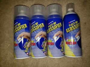 Clear Performix Plasti Dip Enhancer Glossifier Spray Gloss Rubber Coating 11oz