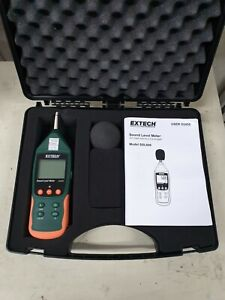 Used Extech Sdl600 Sound Level Meter