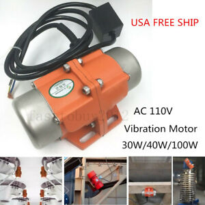 Small Volume Ac110v Vibration Motor To Make Concrete Counter Tops Sieve Screen