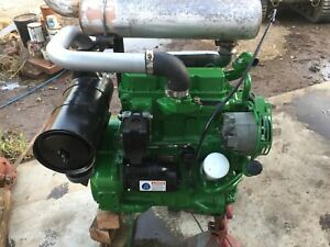 John Deere 3179 Diesel Engine 3 Cylinder 2 9 Liter Jd Motor Running Video