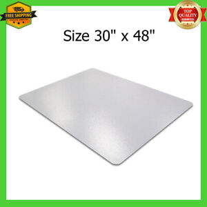 Desk Mat For Carpet Protector Plastic Office Chair Floor 46x60 Inch Chairmat New
