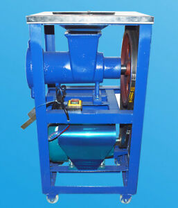 2 2kw Crusher Fish Chicken Bones Feed Processer Meat Grind With 2 Grinding Tool