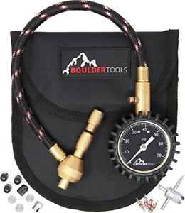 Boulder Tools All New Heavy Duty Rapid Tire Deflator Kit With Valve Caps Valve