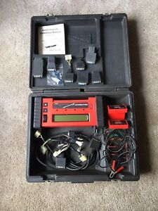 Asian Snap On Tools Mt2500 Scanner With Accessories Obd1 Obd11
