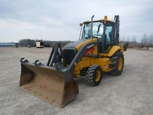 2006 Volvo Bl60 4 X 4 Backhoe Loader With Only 2730 Hours