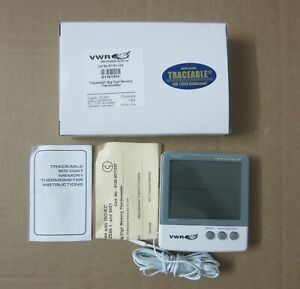 Vwr 61161 324 Traceable Big digit Memory Thermometer