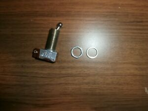 Long Neck Ball Handle Spst Ahh 3 Amp Toggle Switch Usa Nos