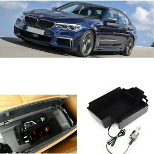Phone Qi Wireless Car Charging Panel In Armrest Storage Box For Bmw 5 G30 G31