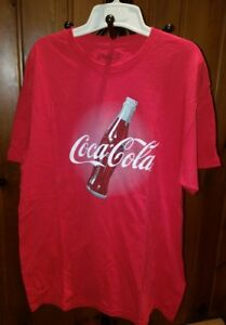 2011 Vintage Coca-Cola T-Shirt Coke Logo Graphic XL Bottle Classic Red Company