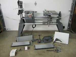 Shopsmith Mark V 510 500 Workshop Lathe & Table Saw Sander Sanding Disk