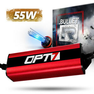 Opt7 Bullet r Motorcycle Hid Kit All Bulb Sizes And Colors 2 Yr Warranty
