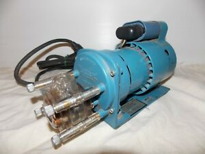 Cole Parmer Masterflex 7531 00 Peristaltic Pump Includes A 7018 20 Pump Head