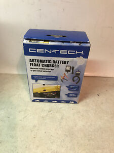 Cen Tech Automatic Battery Float Charger In Original Box