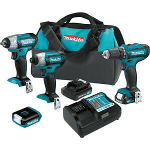 12v Max Cxt Lithium ion Cordless 4 Pc Combo Kit 1 5ah