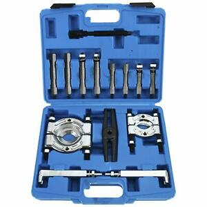 14pcs Fly Wheel Gear Puller Bearing Separator 2 3 Splitters Remover Kit Set