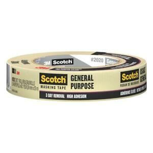 Duck Scotch General Purpose Masking Tape 36 Pack High Adhesion Sunlight Resists