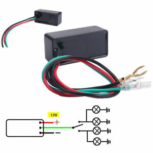 Motorcycle 3 Pin Electronic Led Flasher Relay For Turn Signal Blinker Waterproof