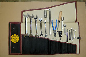 Aston Martin Db4 Db5 Db6 Tool Kit Roll Toolkit Complete