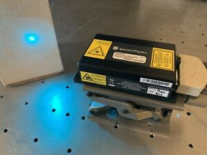 Spectra Physics Cyan Laser System 488nm 23mw Single Frequency Slm Holography New