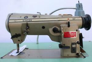 Singer 457u105 Zig Zag Lockstitch Reverse High Speed Industrial Sewing Machine