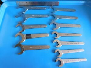 Used Bonney Fairmount Thin Hydraulic Pump Wrench S Lot Of 12