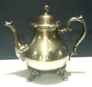 Vtg Joanne Wilcox Silverplate International Co Coffee Pot 7202