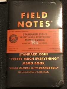 Field Notes New Sealed Pretty Much Everything Aaron Draplin Limited Edition