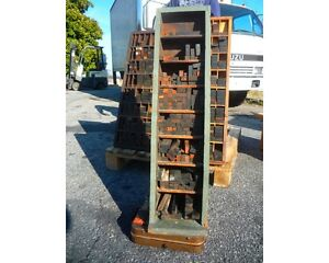 Vintage Letterpress Furniture Cabinet With A Lot Of Furniture Maybe Hamilton 3