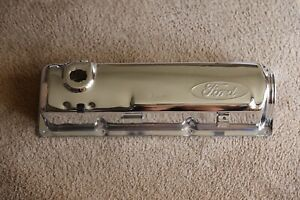 Nos New 1979 1982 Ford Mustang 2 3 Ford Motorsport Svo Chrome Valve Cover M 81