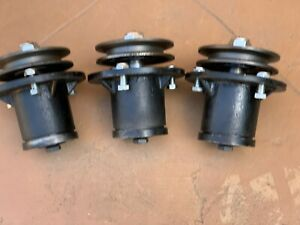 Three 3 King Kutter Finish Mower Spindle 502303 Free Shipping