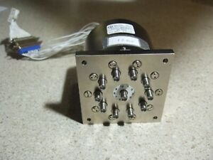 Dowkey 5a1j 480823 1 Sp10t 18 Ghz Sma 24vdc Coax Relay W terms And Indicators