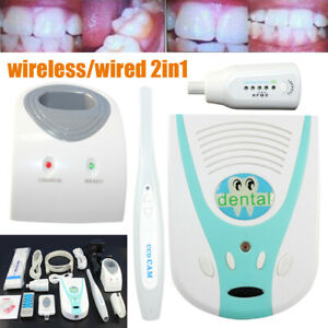 Dental Intraoral Wired Wireless Camera User Guide Usb 2 0 Vag Siganal Output Top