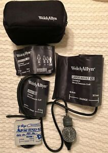 Welch Allyn Blood Pressure Monitor Bundle Clinical Barely Used Classic Tycos