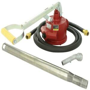 Fuel Transfer Pump Piston Pump With 8 Ft Hose And Fittings Tuthill Style Gpm