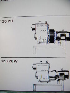 Hydrovane 120 Service Workshop Manual parts List 120 Pages Will Send By Email