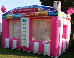 Commercial Inflatable Food Drink Concession Stand Tent Booth 10 x8 x13 New