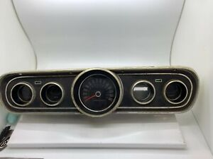 Vintage Ford Mustang Control Panel Instrument