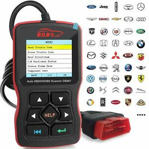 Obdscar Os601 Eobd Obd2 Scanner Automotive Engine Fault Code Reader Scan Tool