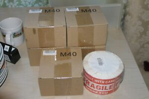 6 Rolls Of 500 Fragile Stickers Handle With Care Warning New 3 x5