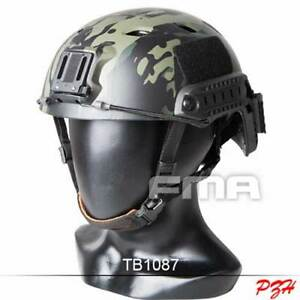 FMA Tactical Airsoft Base Jump BJ Helmet MultiCam Black L XL $56.99