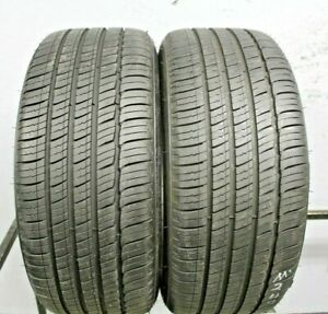 Two Used 225 40r19 2254019 Michelin Primacy Mxm4 Zp Bmw 8 32 A347