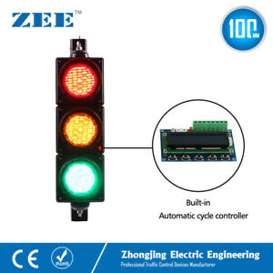 Automatic Running Cycle Led Traffic Light Self controller Traffic Signal Light