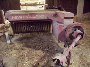 New Holland Hayliner 273 Square Baler