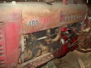 Ih Farmall 400 Tractor With Fast Hitch
