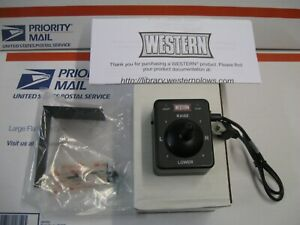 Western Joystick 4 Pin Fleet Flex Plow Control 96800 New For Straight Blade Plow