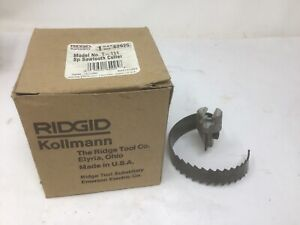 New Ridgid 62925 T 111 Spiral Sawtooth Cutter 3 Drain Snake In Box