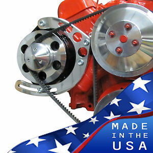 Small Block Chevy Alternator Bracket Long Water Pump Sbc 350 Lwp Gm 302